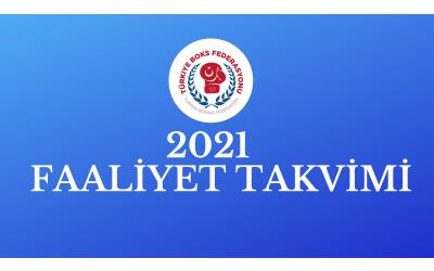 2021 YILI FAALİYET PROGRAMI GÜNCELLENMİŞTİR