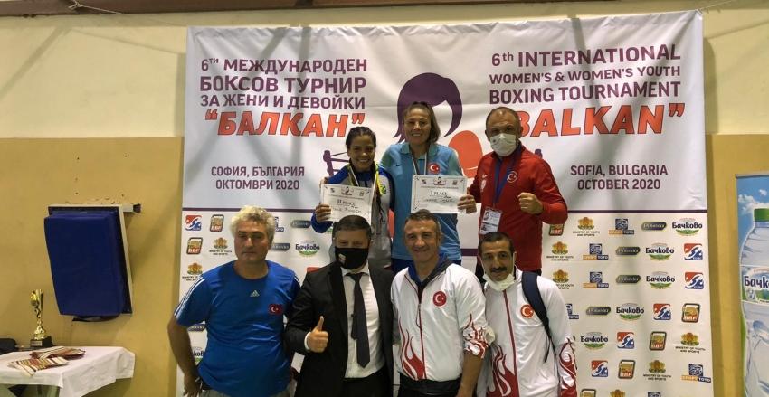 OLİMPİK KADIN BOKS MİLLİ TAKIMI'NDAN 3 MADALYA