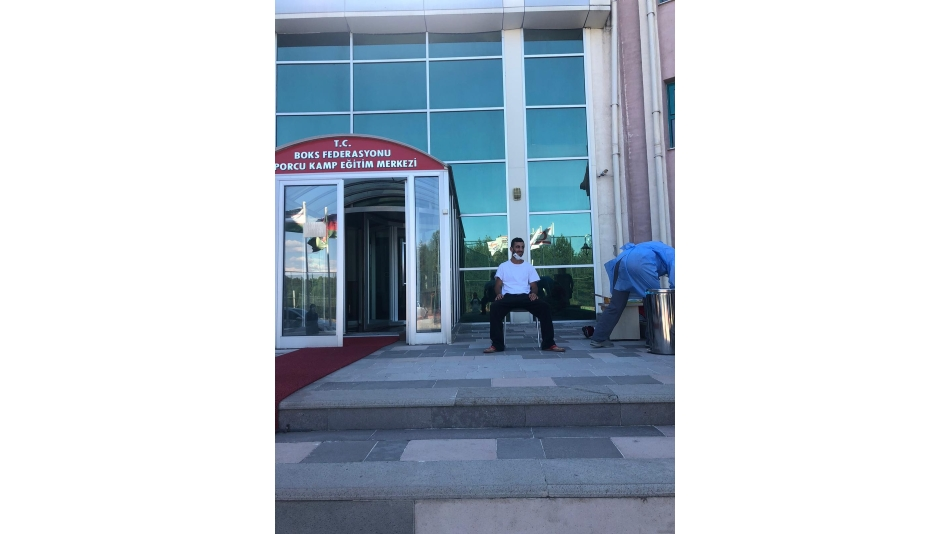 BÜYÜK ERKEKLER BOKS MİLLİ TAKIMIMIZ KASTAMONU'DA KAMPA GİRDİ