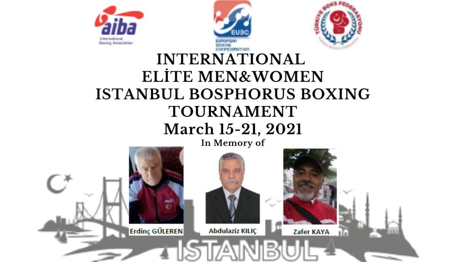 ULUSLARARASI BOĞAZİÇİ BOKS TURNUVASI 15-21 MART 2021 İSTANBUL